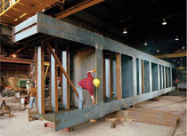 A Staggered-Column Double-Span Beam Framing System Offers An Alternative For Design-Build Projects.