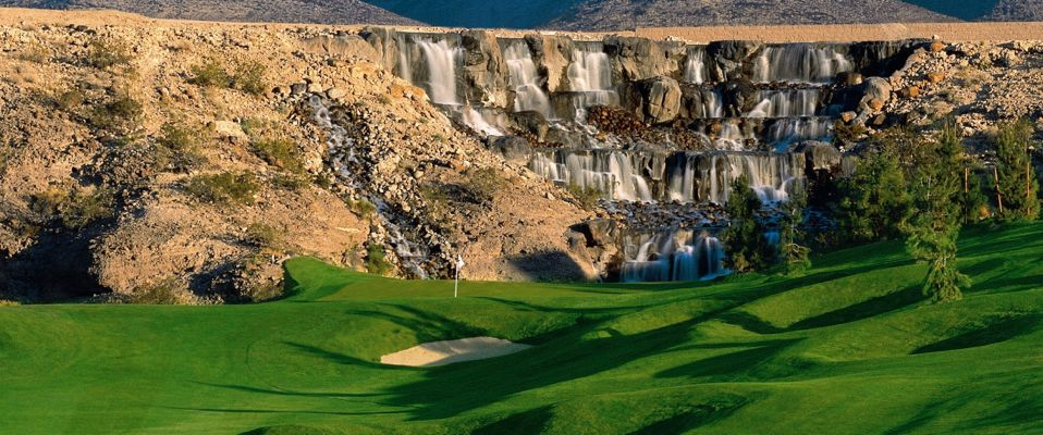 "The Revere Golf Club offers views of the Las Vegas Skyline and mountains beyond. According to their website, ""This par-72 layout will test your shot making capabilities with classic risk/reward scenarios."""
