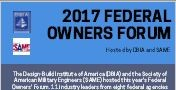 2017 Federal Owners' Forum: Improving Federal Project Delivery