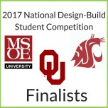 2017 National Design-Build Student Competition Finalists